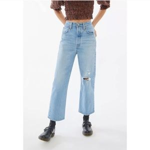 NWT Levi's Ribcage Straight Ankle Denim Jean